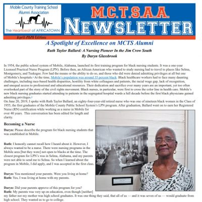 April MCTS News